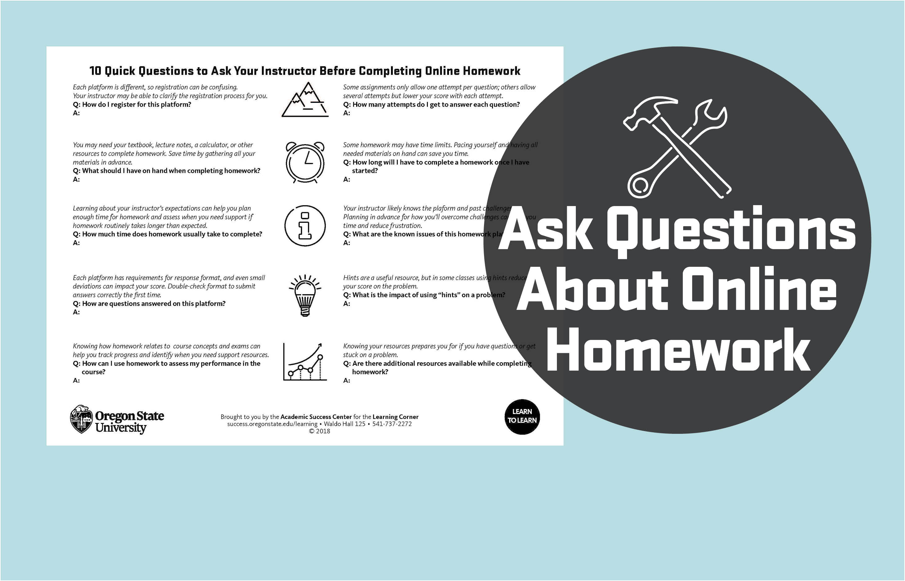 10 Quick Questions to Ask Your Instructor Before Completing Online Homework