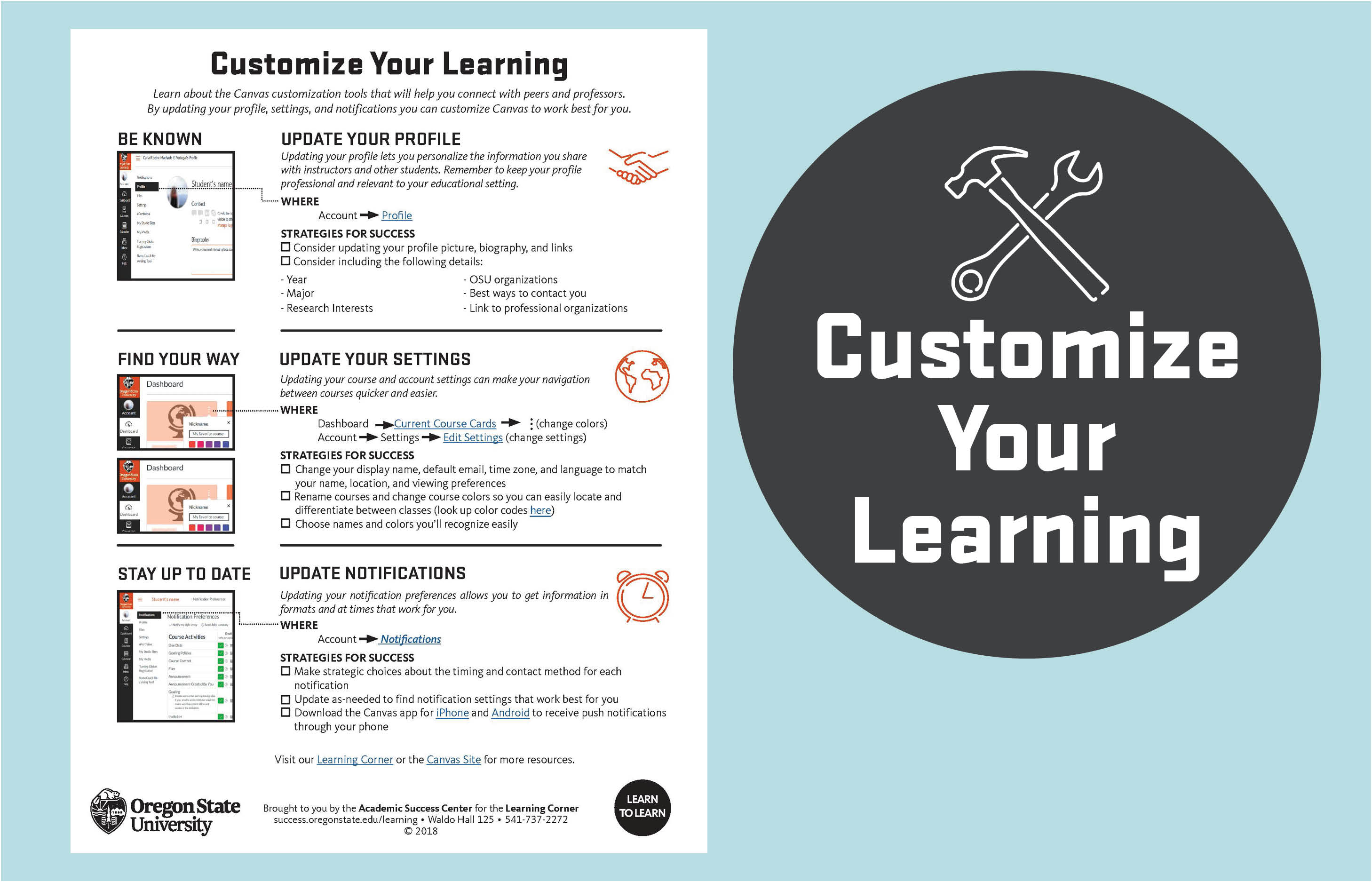 Customize Your Learning