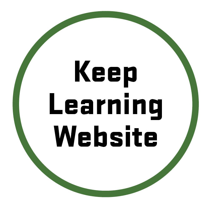 Keep learning website