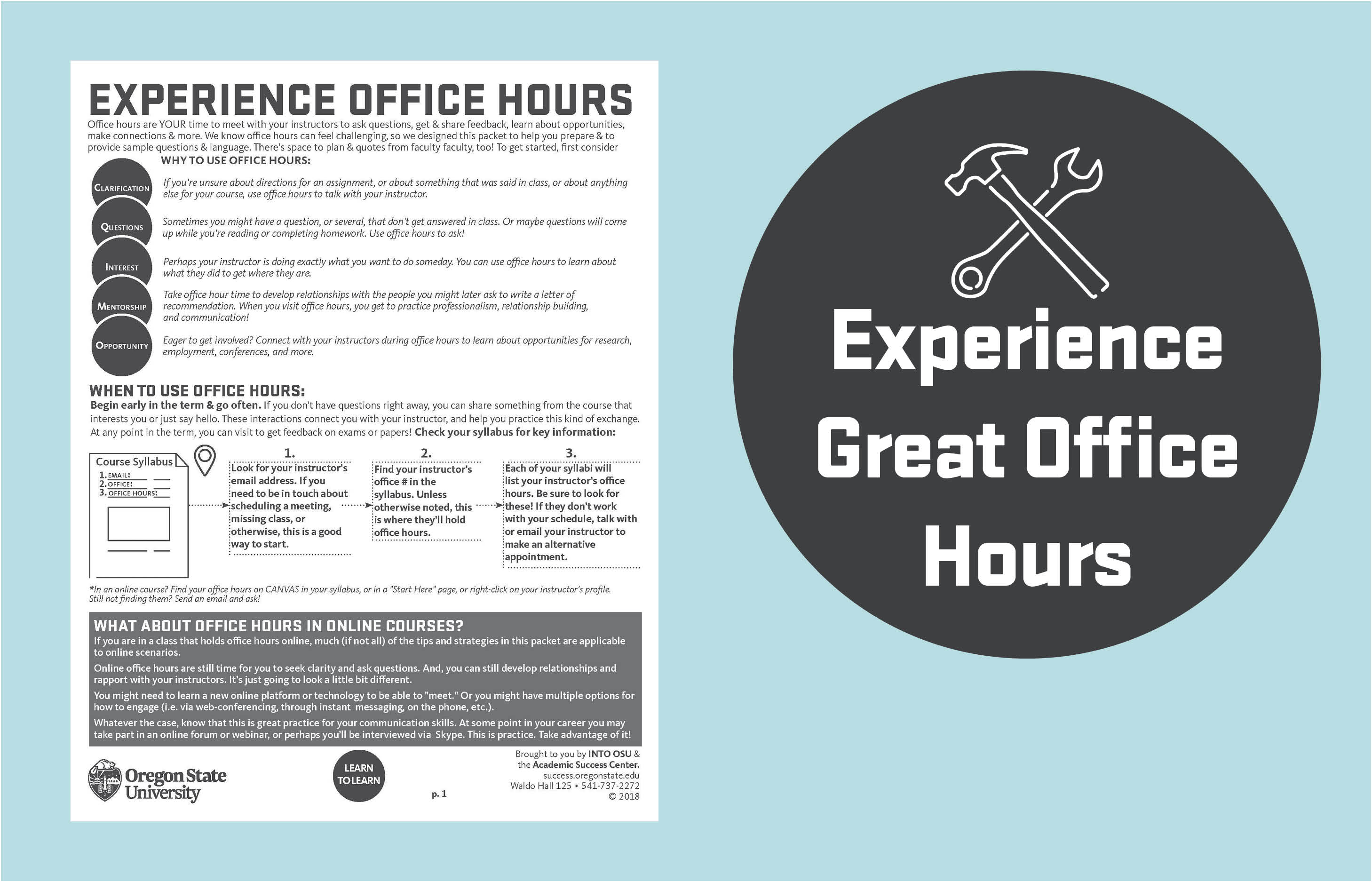 Experience Great Office Hours