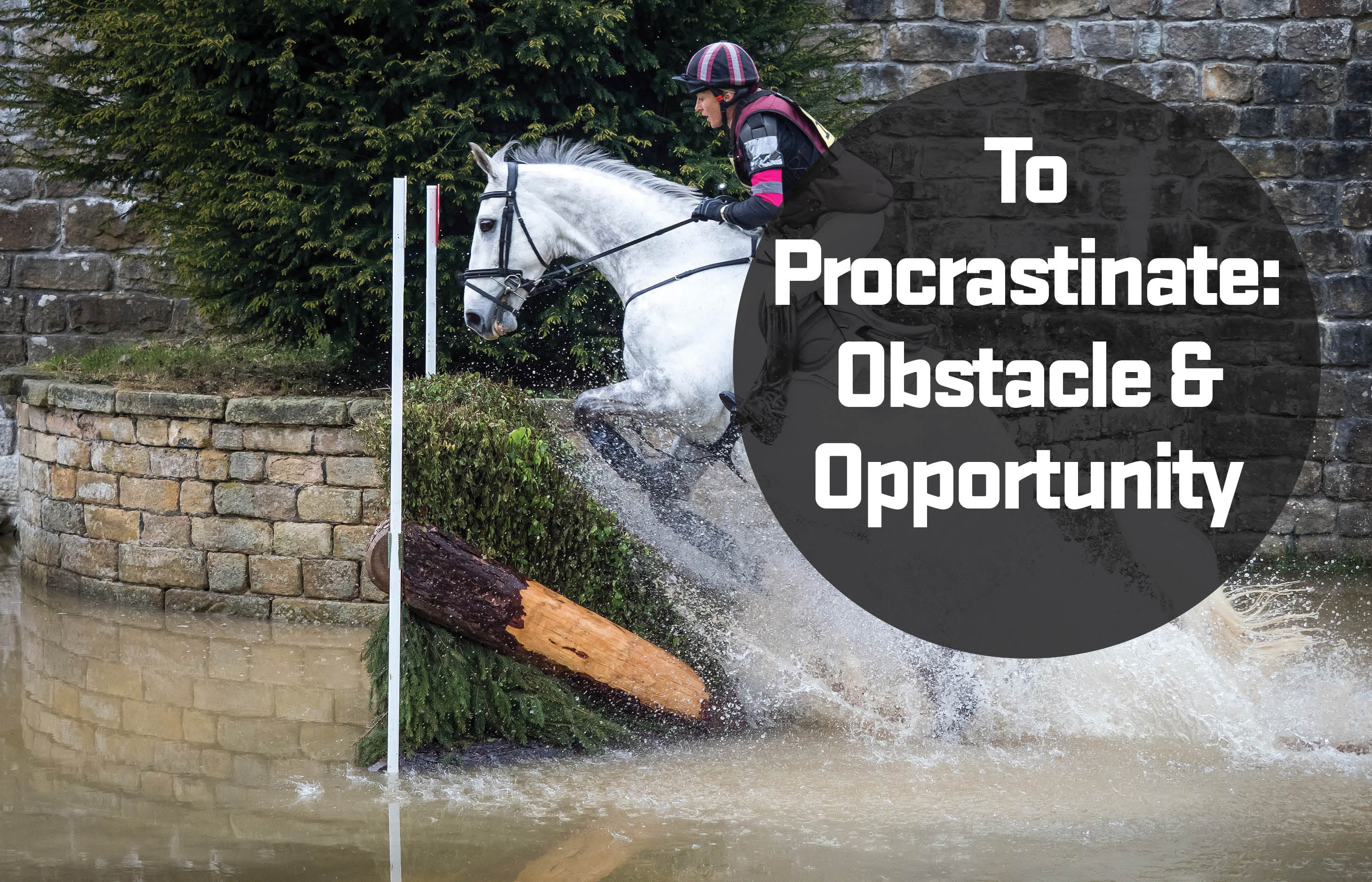 To procrastinate: obstacle & opportunity