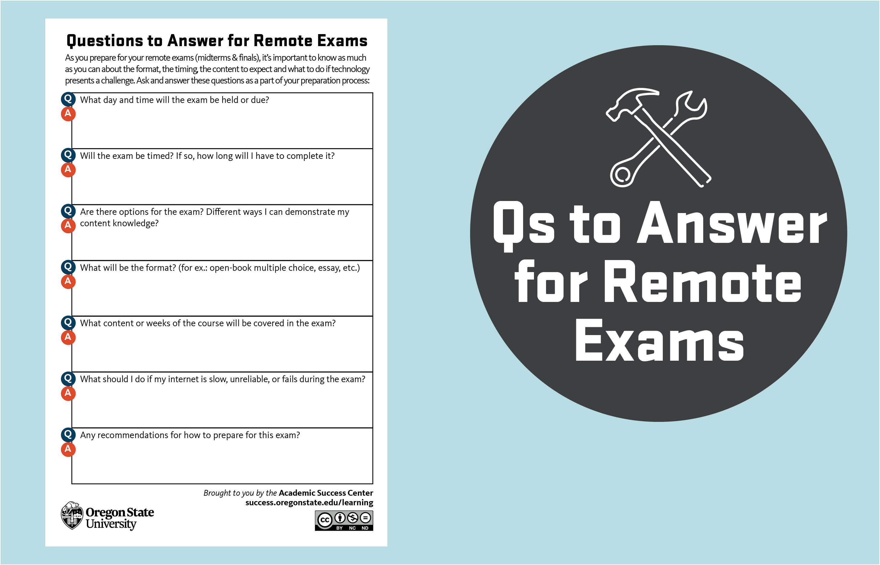 Qs to answer for Remote Exams