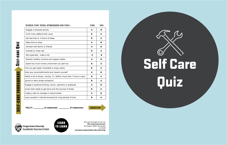 Self Care Quiz