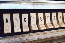 Keys with letters