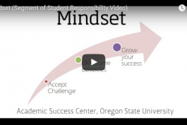 screenshot of mindset video from youtube