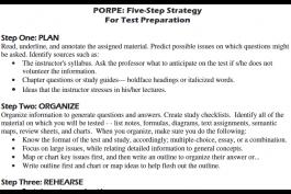 screenshot of PORPE strategy worksheet
