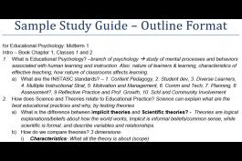 sample study guide screenshot