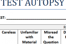 screenshot of test autopsy worksheet