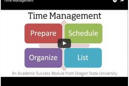 Time Management Video Image