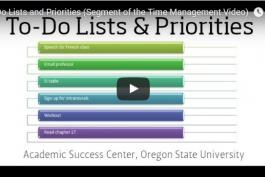 screenshot of to-do lists & priorities video