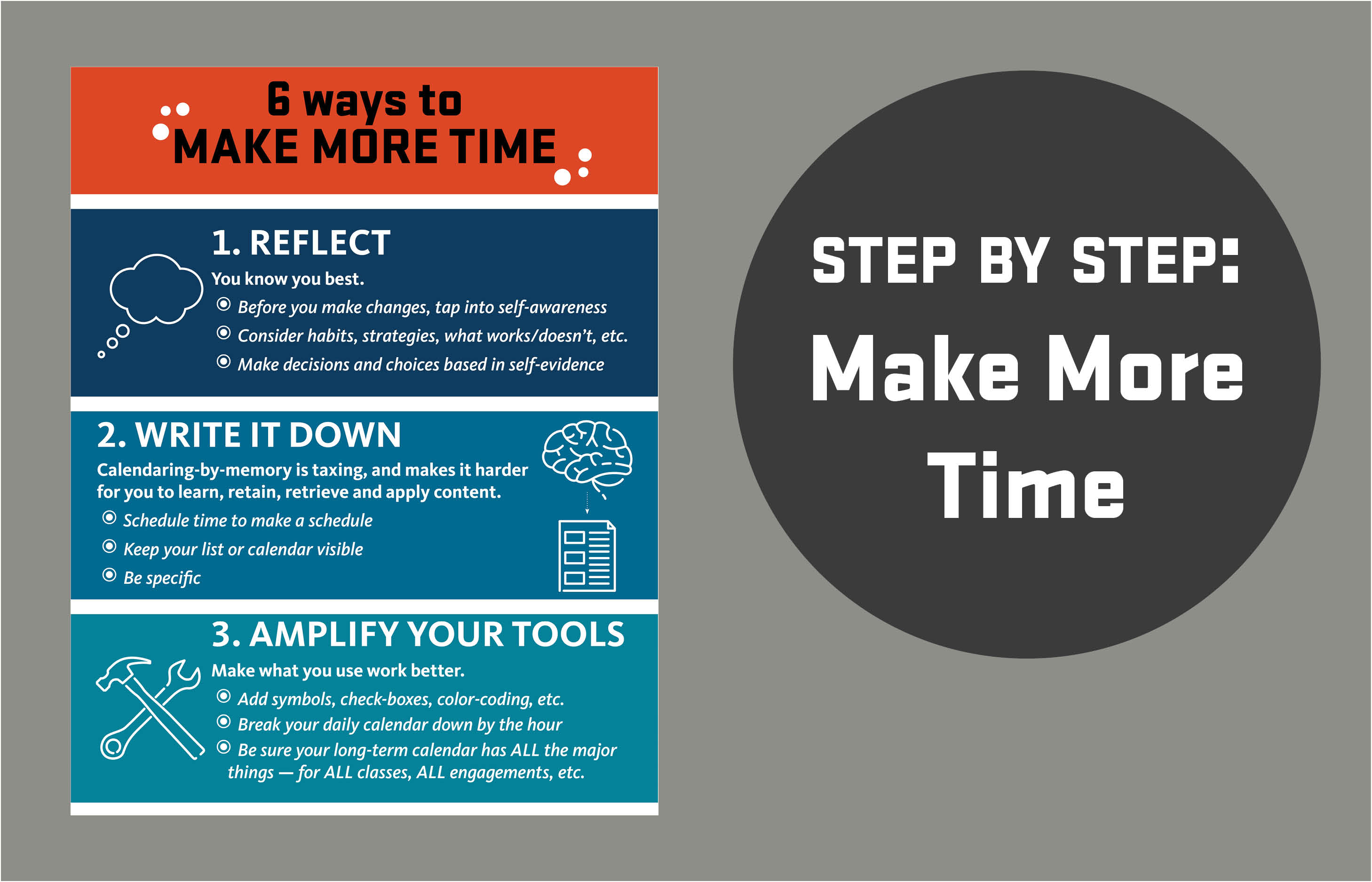 6 ways to make more time