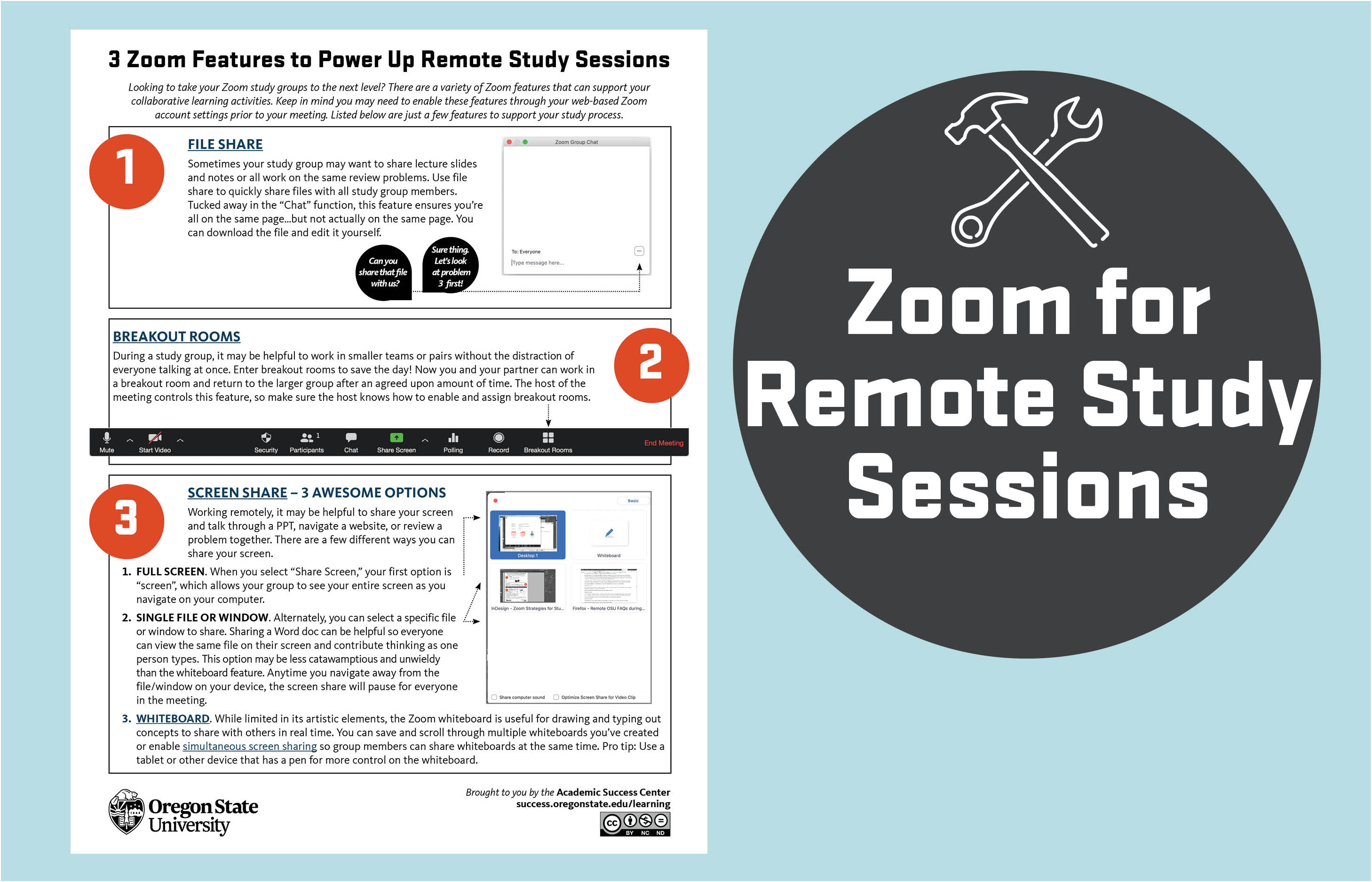 Zoom for Remote Study Sessions